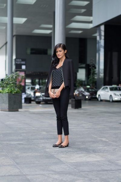 Shenton Way - workplace fashion in Singapore - Dressed for Success or not