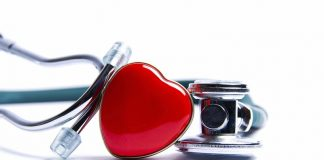 Heart attack: Stethoscope Heart Medicine