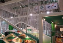 Halal food from Thailand