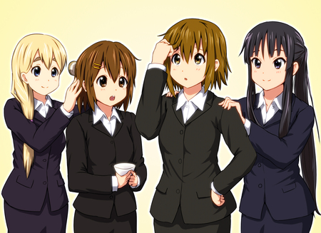 College students anime by banzaiou for 11ahleven