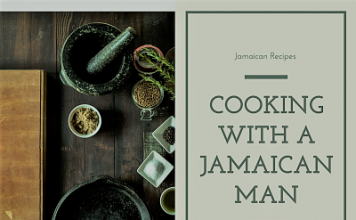 Cooking can be fun, but cooking with a Jamaican man is better!