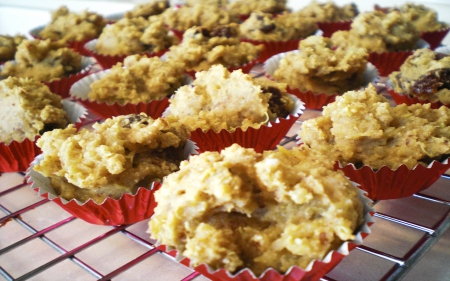 apricot almond muffins - Organic Diet: Three Natural Foods to Include in Your Meals