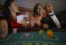 Destination ideas for couples who gamble - black couple gambling