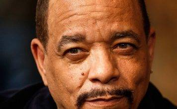 full face photo of rapper Ice T