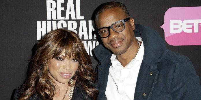 Tisha Campbell-Martin and Duane Martin together at BET awards ceremony