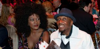 Jimmy Cliff and Bridgette Radebe Monaco Rose Ball [2011]