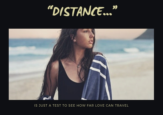 5 Pros of Long Distance Relationships by Mudabbira Khan woman on beach with towel