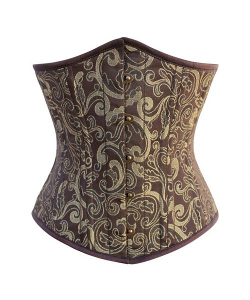 VG 20111 F Carrissa Waist Training Brocade Underbust Corset 765x 500x600 - 4 Steps To Look Even Sexier While Wearing A Corset Top
