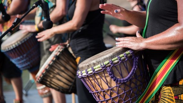 Why Muslims Travel to New Orleans, Louisiana african drums