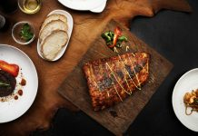 calorie deficit closeup of pork ribs steak on wooden board food styling 53876 16202