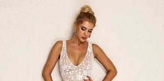 Joyfunear Embroidered Mesh Overlay Tank Dress 7 Comfortable and Casual Spring Outfit Ideas You Must Try
