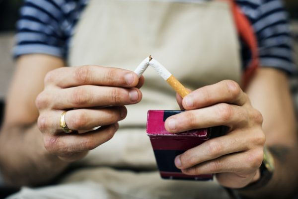 dental facts and tips smoker quitting the cigarette 53876 13455 600x400 - 6 Dental Facts and Tips For A Healthier Smile