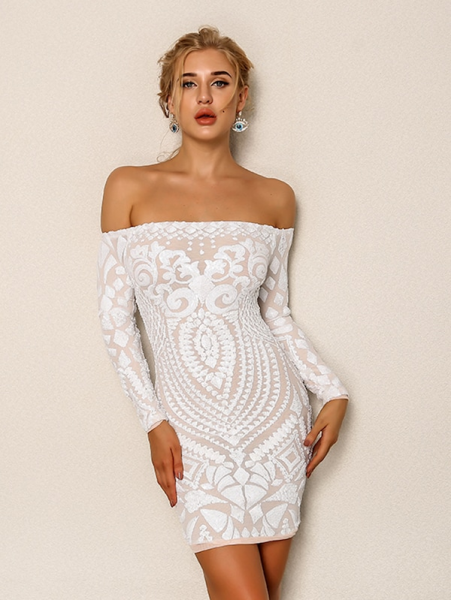 shein white bodycon dress cover 451x600 - 7 Comfortable and Casual Spring Outfit Ideas You Must Try
