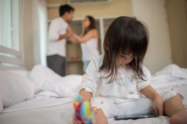 Even small children are affected by unhealthy father-daughter relationships.