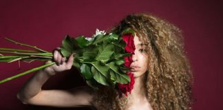 When He Says He Doesnt Do Drama 2 Photo by Thought Catalog from Burst woman grasping flowers 925x min