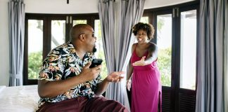 Dealing With Jealous Insecure Women wife angry with husband on phone too much
